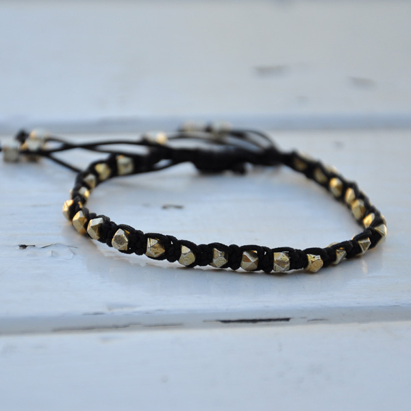 beaded macrame bracelets