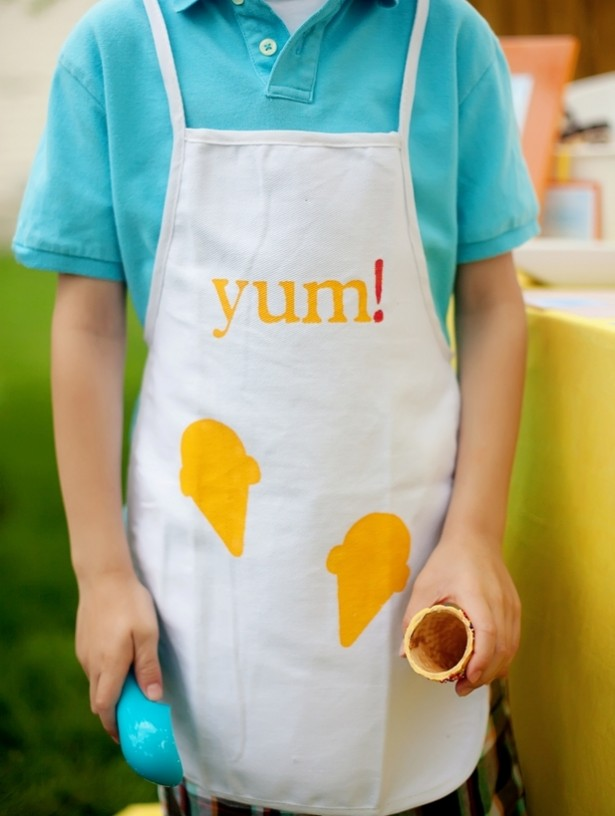 diy easy apron