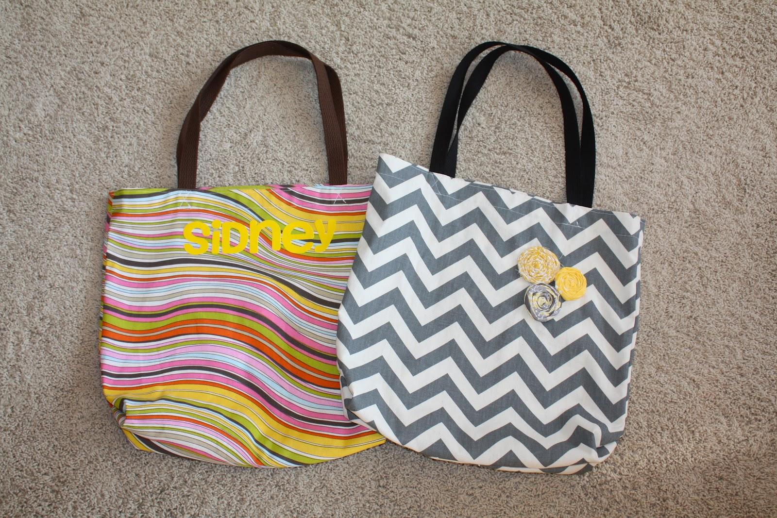 diy easy tote bags