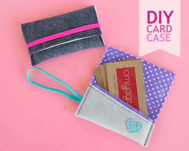 diy simple card wallets