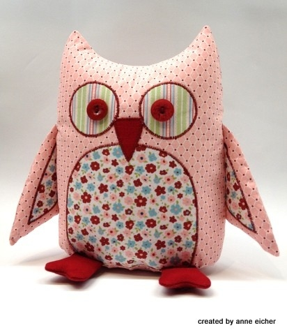 diy stuffed owls