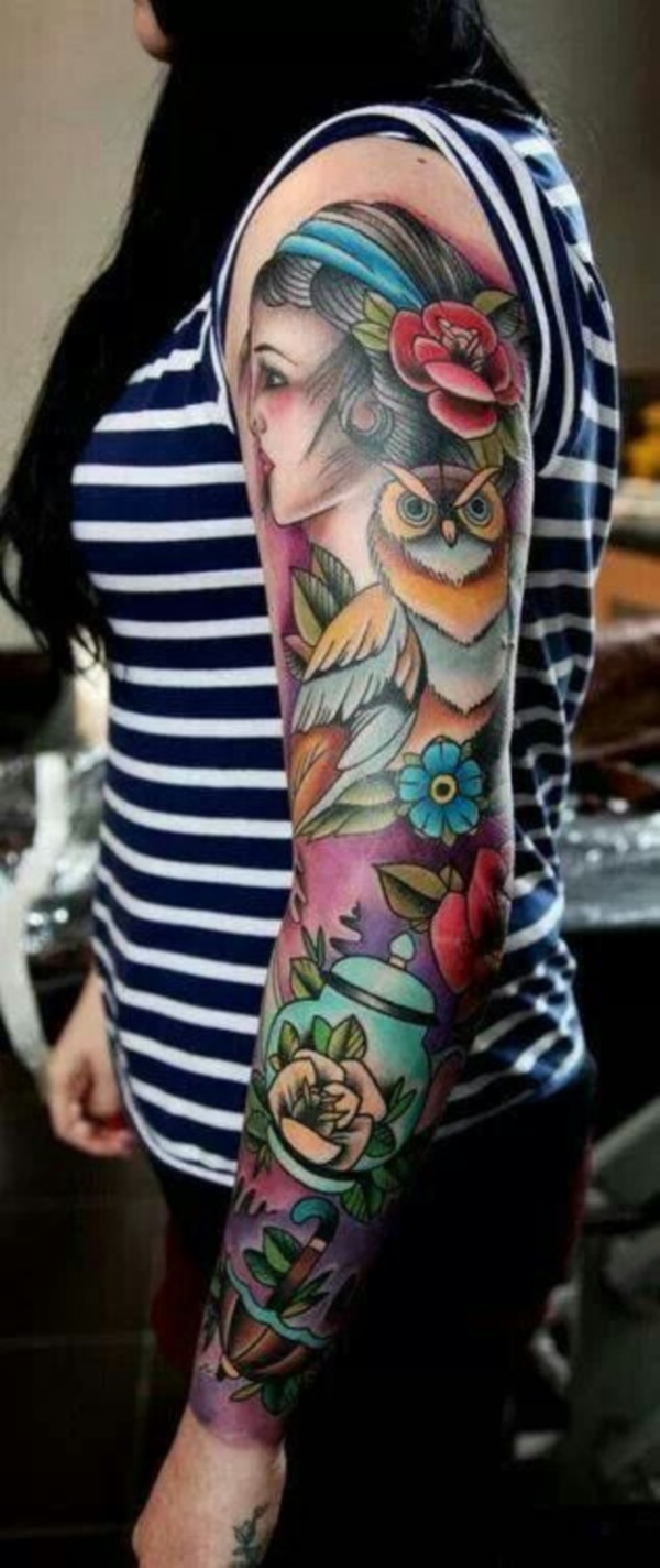 full sleeve tattoo designs (5)