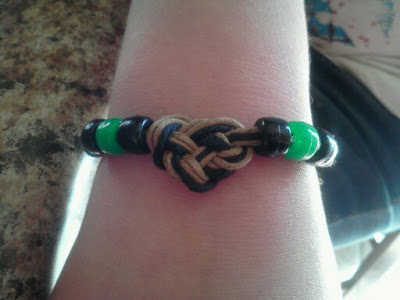 heart knot bracelets