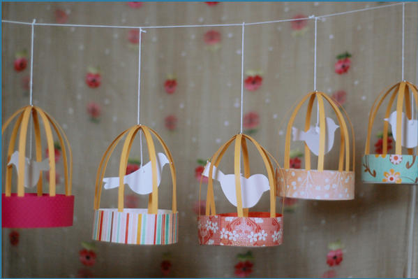 kids craft ideas birdcage lanterns