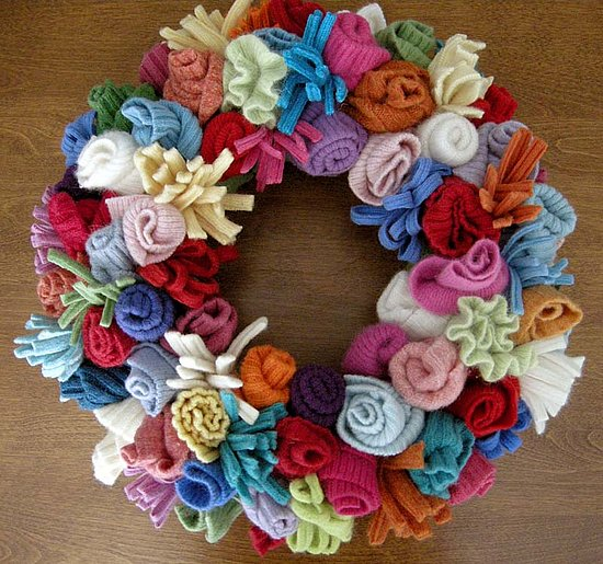 kids craft ideas fabric wreath