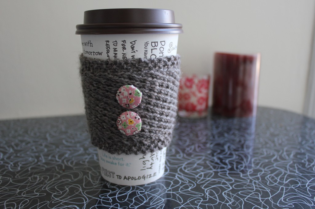 kids craft ideas knit scoks cup cozies