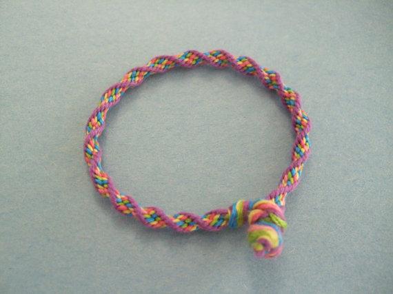 kumihimo frienship bracelet