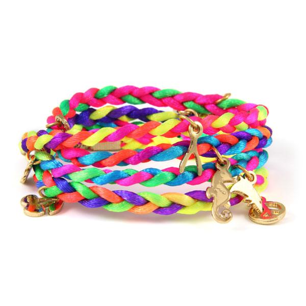 neon wrap friendship bracelet