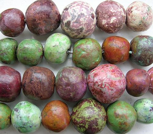 newspaper craft ideas beads