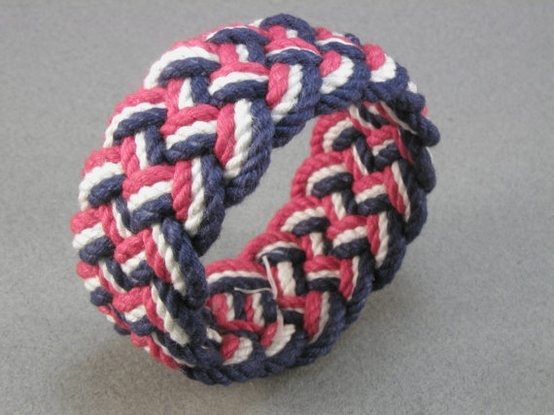 ombre knotted bracelets