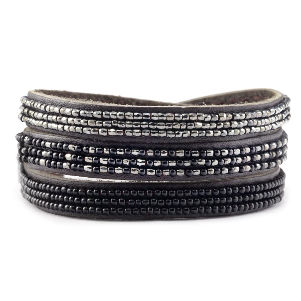 ombre triple bracelets