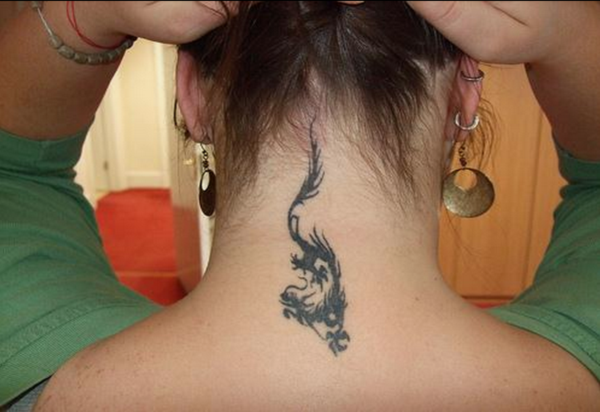 Neck tattoo designs for male and female (2)