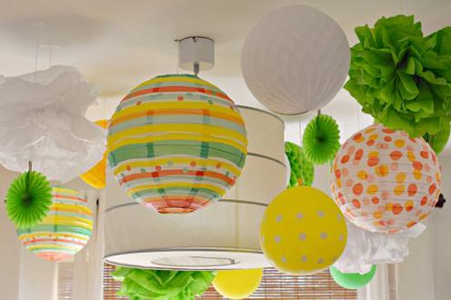 party paper decorations 15