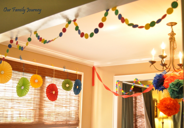 party paper decorations 16