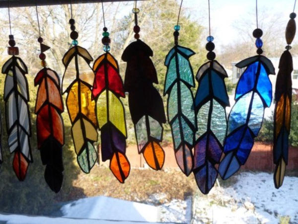 Stained glass Art and Jewelry Ideas (26)