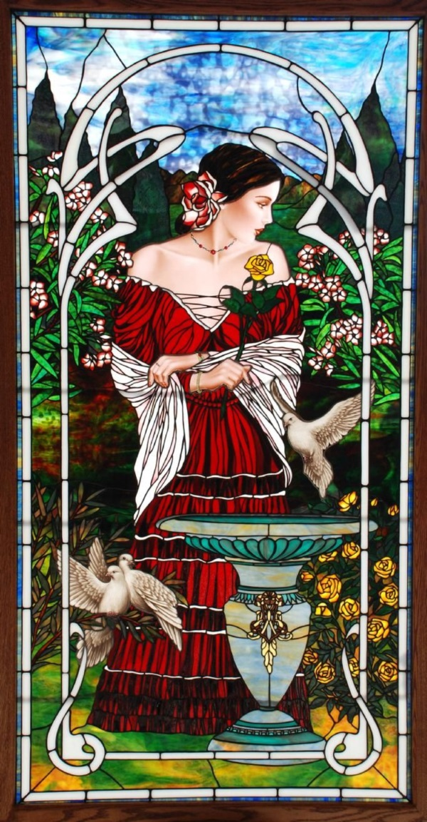 Stained glass Art and Jewelry Ideas (31)