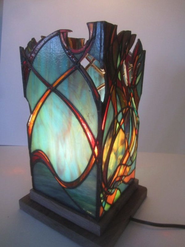 Stained glass Art and Jewelry Ideas (49)