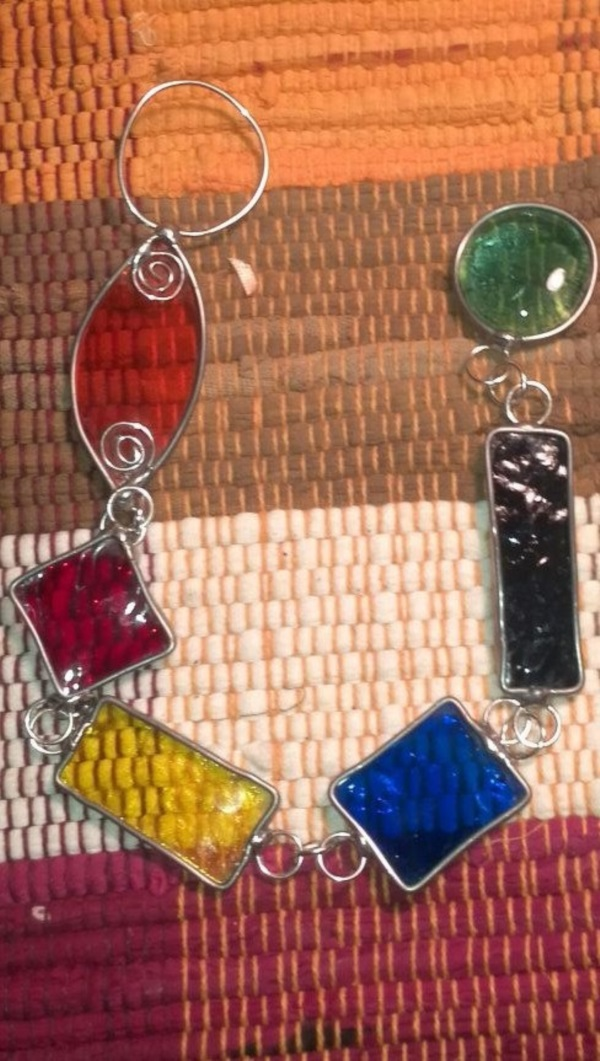 Stained glass Art and Jewelry Ideas (50)