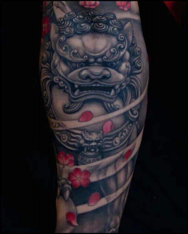 foo dog tattoo designs (21)