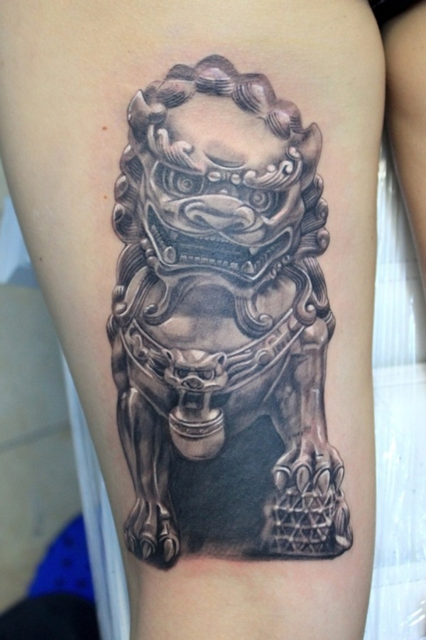 foo dog tattoo designs (22)