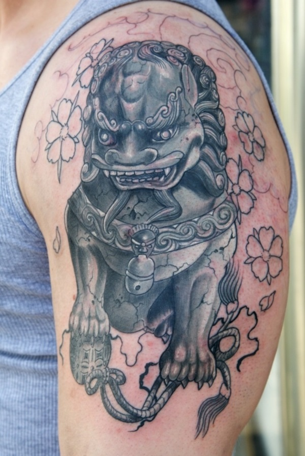 foo dog tattoo designs (23)