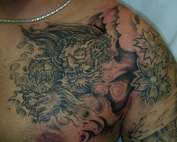 foo dog tattoo designs (25)