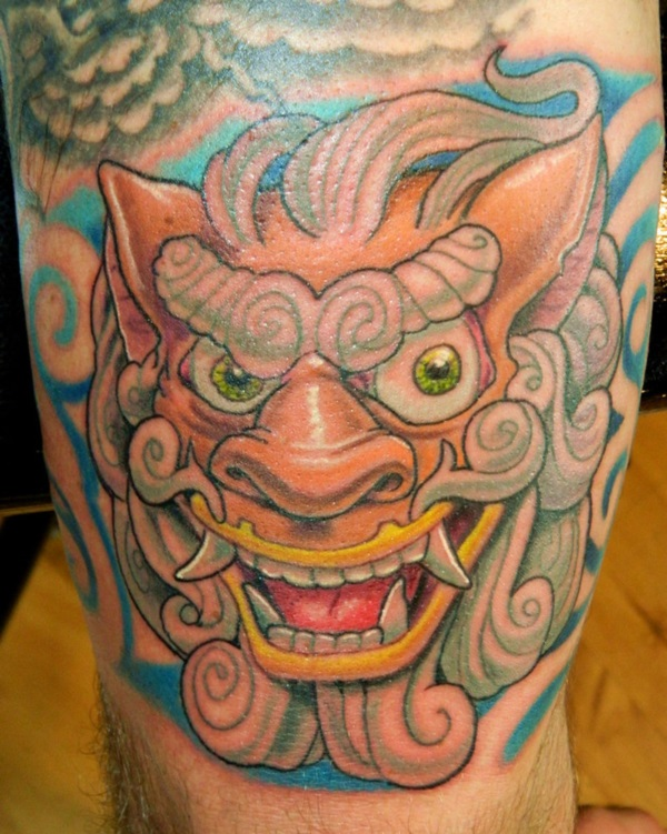 foo dog tattoo designs (26)