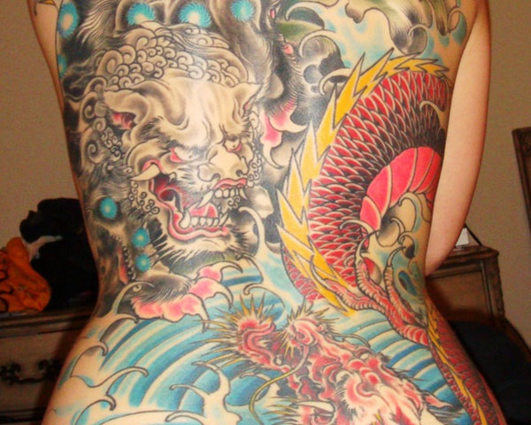 foo dog tattoo designs (29)