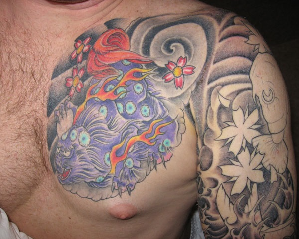 foo dog tattoo designs (33)