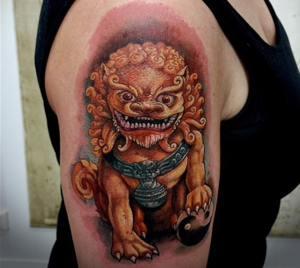 foo dog tattoo designs (8)