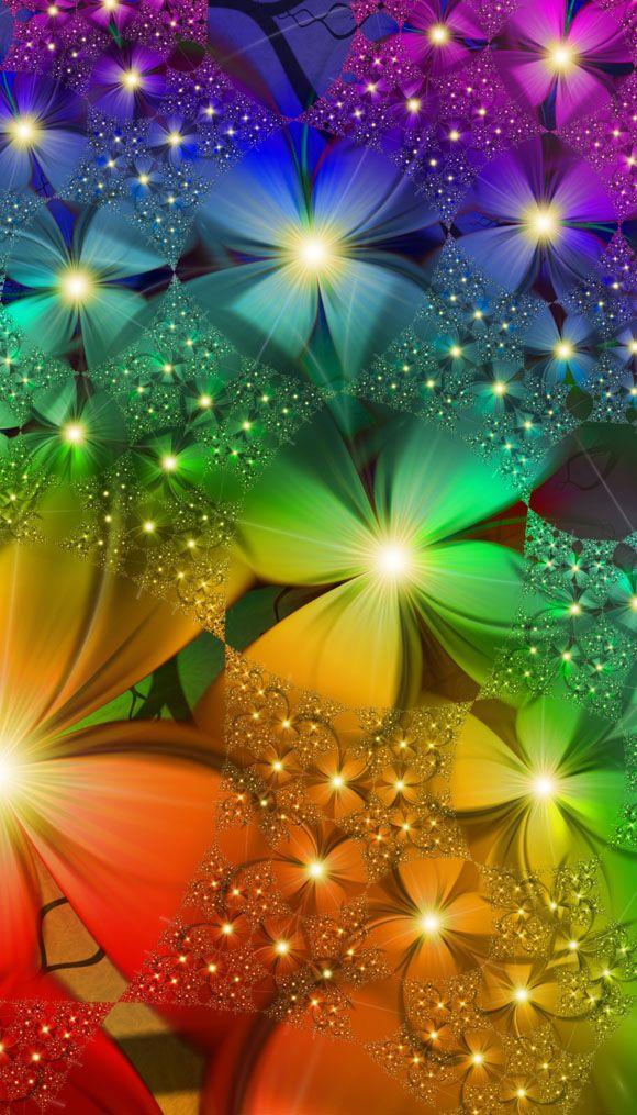 fractal art flowers 5