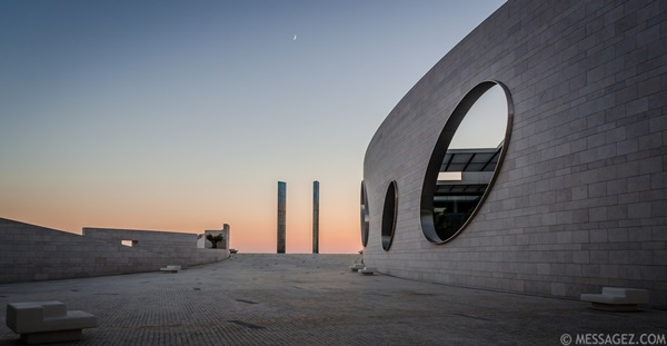 Lisbon Architecture Photography at Sunset ~ Messagez.com