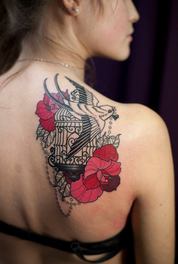 Impossibly Pretty Shoulder Tattoo Designs For Girls (27)