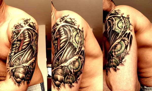Insane mechanics tattoo Designs (24)