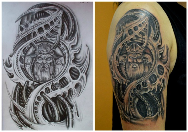 Insane mechanics tattoo Designs (25)