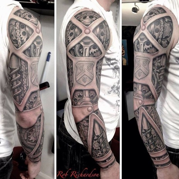 Insane mechanics tattoo Designs (32)