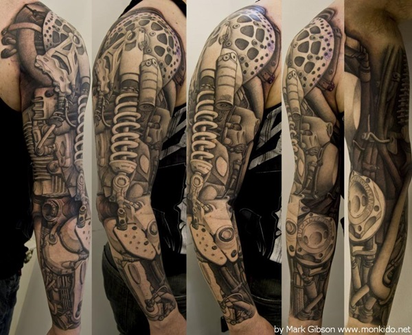 Insane mechanics tattoo Designs (38)