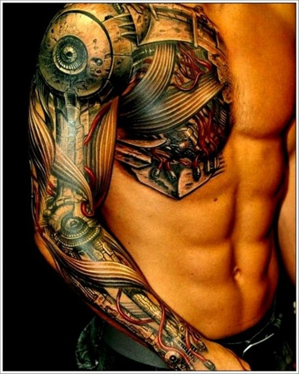 Insane mechanics tattoo Designs (8)