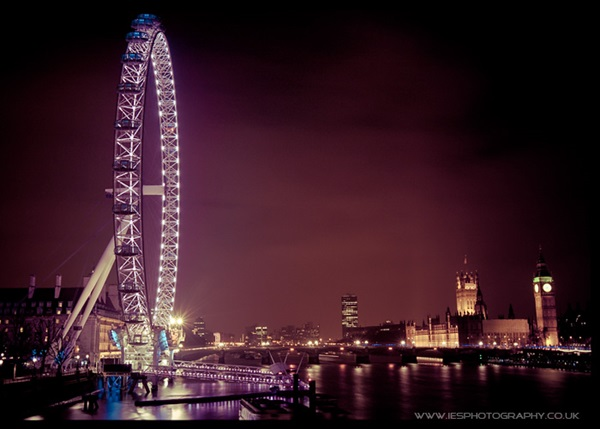London at Night. Photos by Ian Schofield / iesphotography