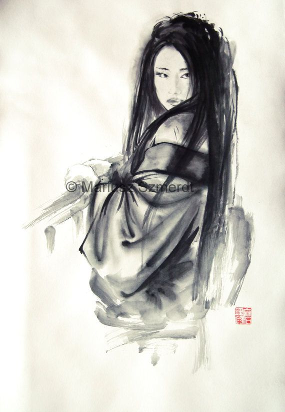 japanese ink painting 3