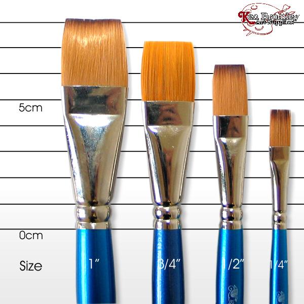 one stroke brush 2