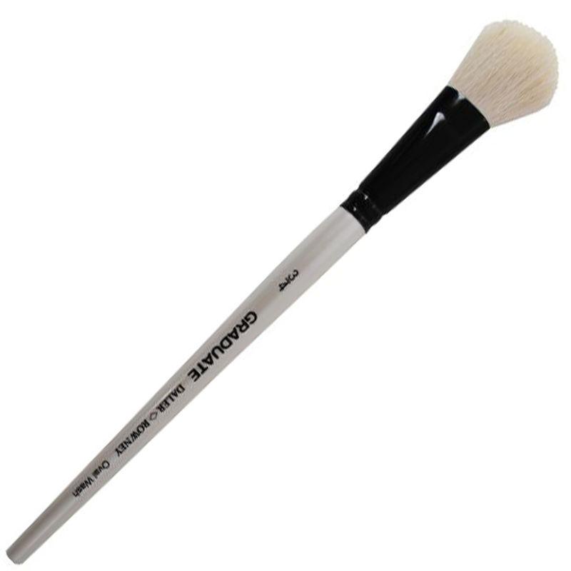 oval wash brush