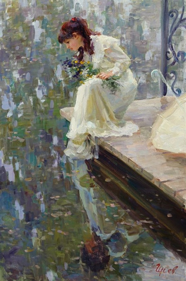 Beautiful and Soft Impressionism Paintings (4)