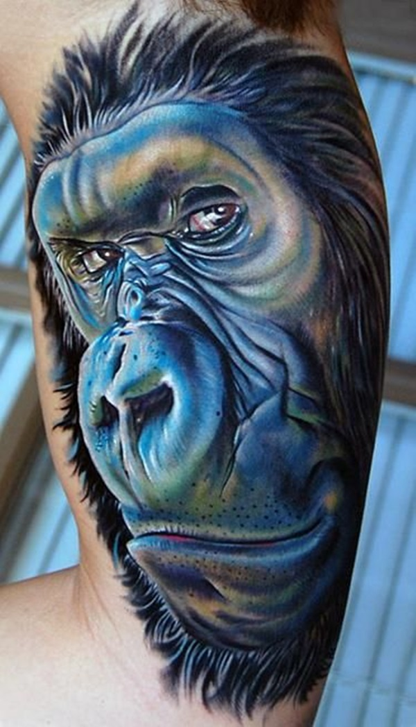 Insanely Gorgeous Blue Tattoos in Trend (10)