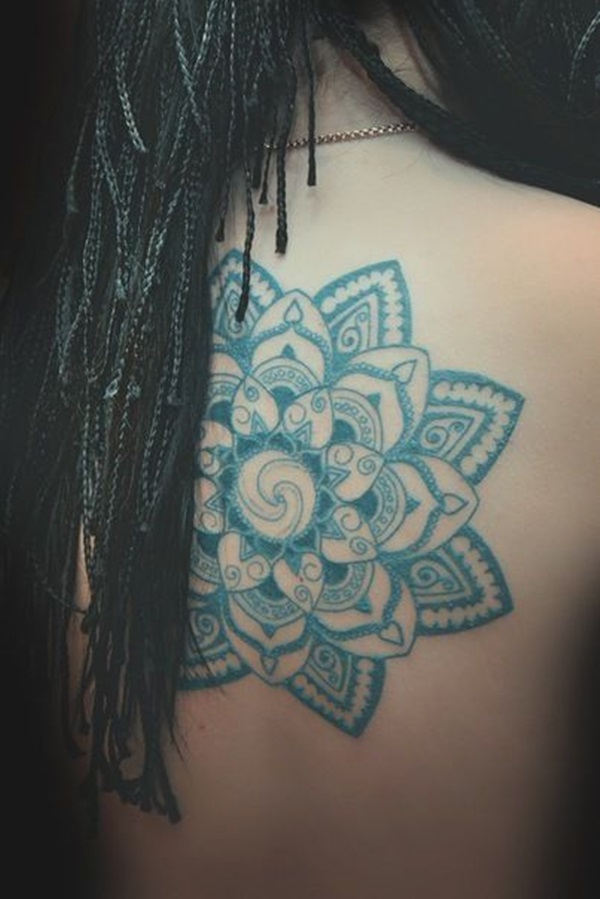 Insanely Gorgeous Blue Tattoos in Trend (19)