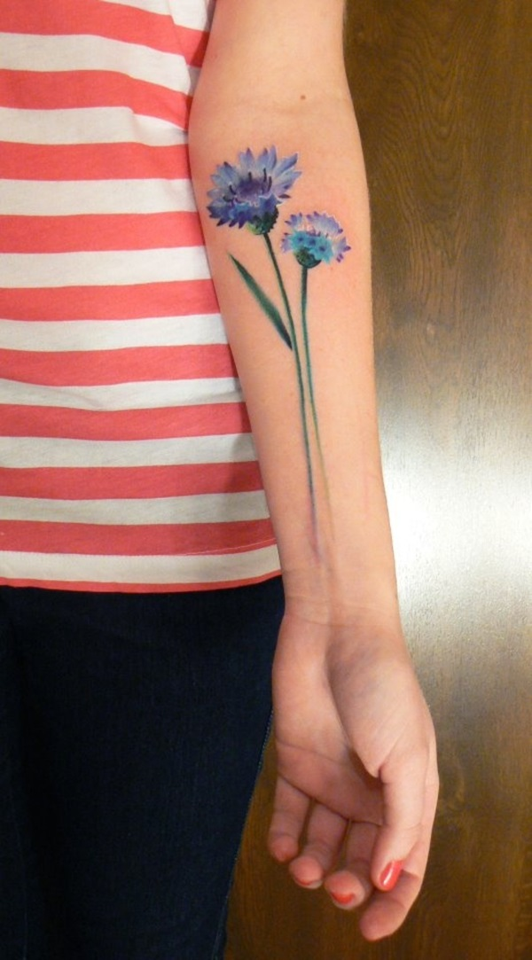 Insanely Gorgeous Blue Tattoos in Trend (20)