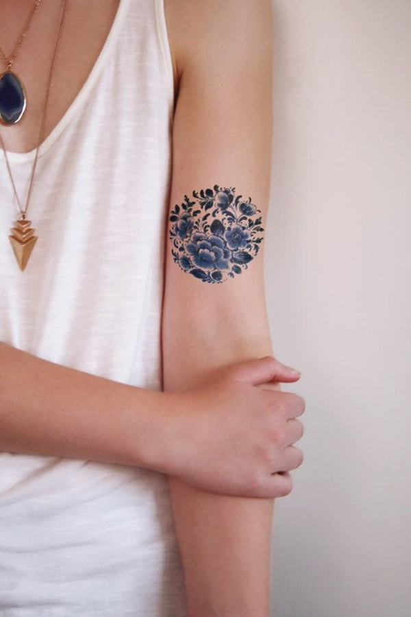 Insanely Gorgeous Blue Tattoos in Trend (26)