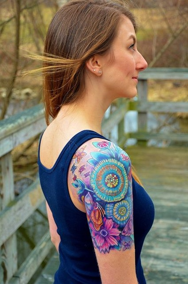 Insanely Gorgeous Blue Tattoos in Trend (27)