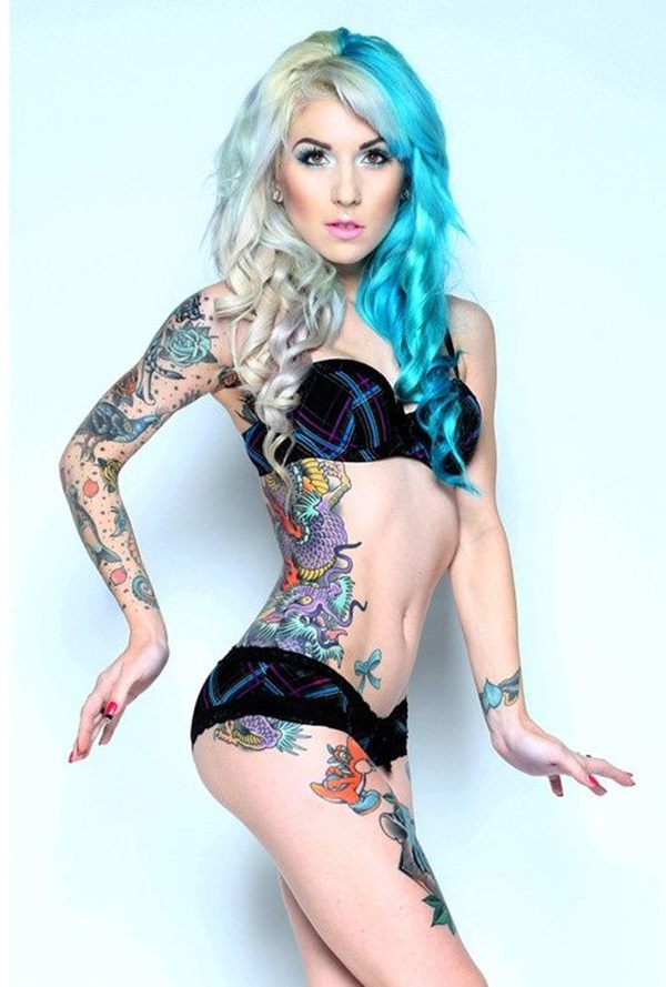 Insanely Gorgeous Blue Tattoos in Trend (3)