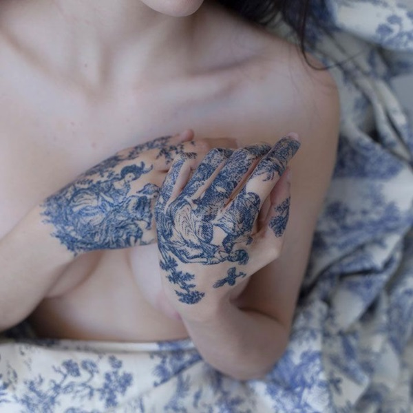 Insanely Gorgeous Blue Tattoos in Trend (31)